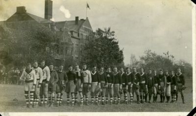 First football 1908 St Andrews College