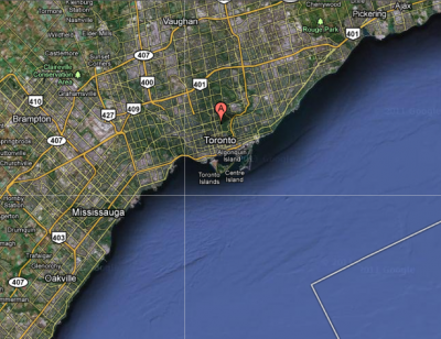 North Toronto satellite view 1