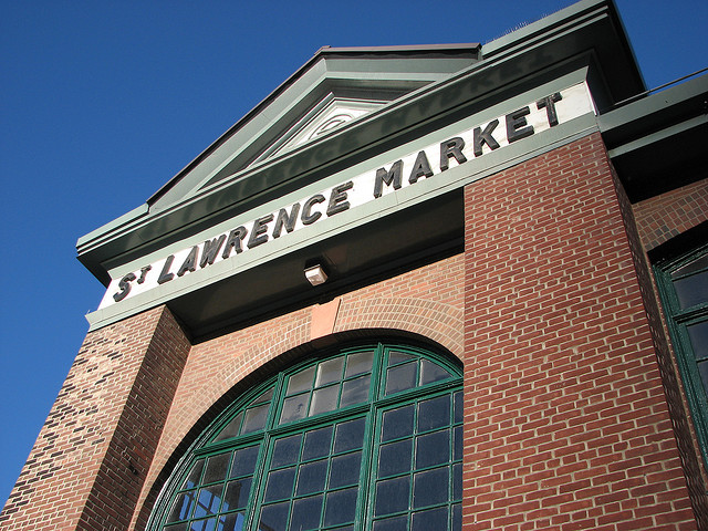 St Lawrence market by Ian Muttoo