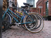 Bikes Distillery District