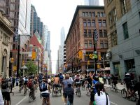 Toronto Biking by James Schwartz