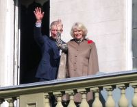 Prince Charles the Prince of Wales and his wife Camilla