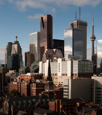 Toronto by Bill Hertha