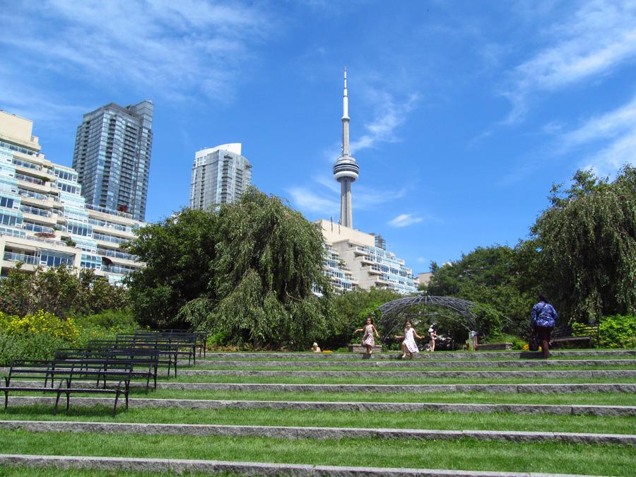 Toronto Music Garden Jamie Sarner