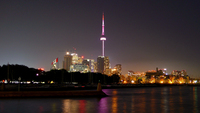 Toronto at Night by Andy Burgess