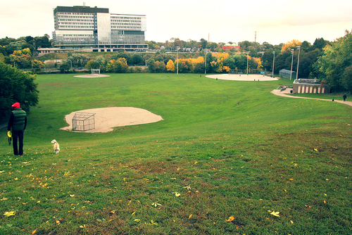 Sporting facilities Riverdale park