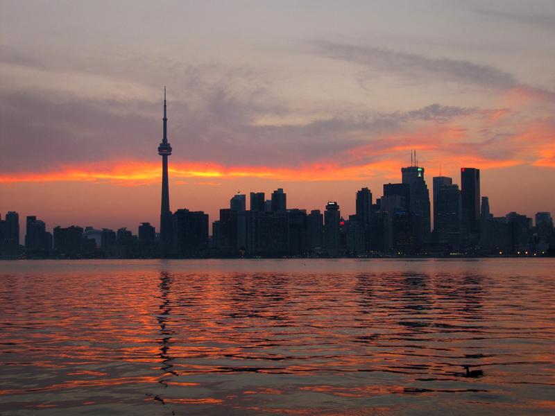 Toronto Sunset by Loozrboy