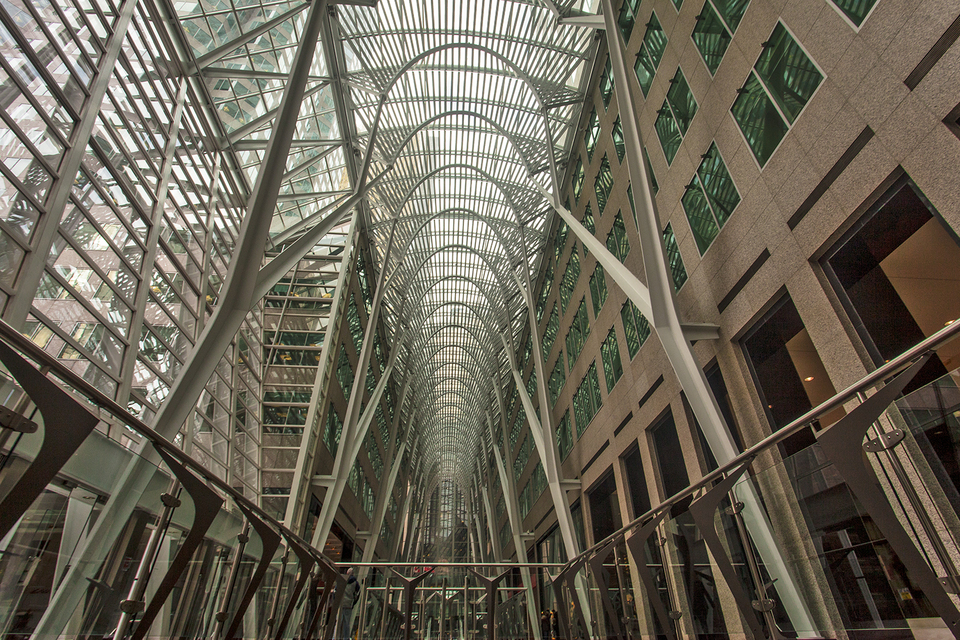 Brookfield Place glass roof
