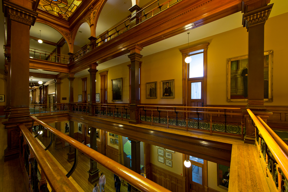 Ontario Legislative Building Stairs