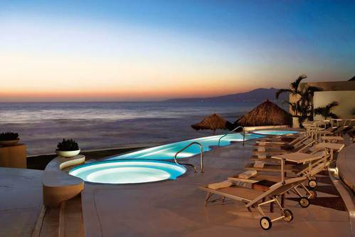 Outdoor Jacuzzi by Grand Velas Riviera Nayarit