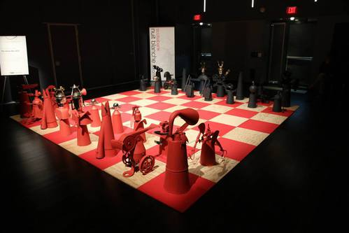 The Chess Set  See it at Wychwood Barns on October 5