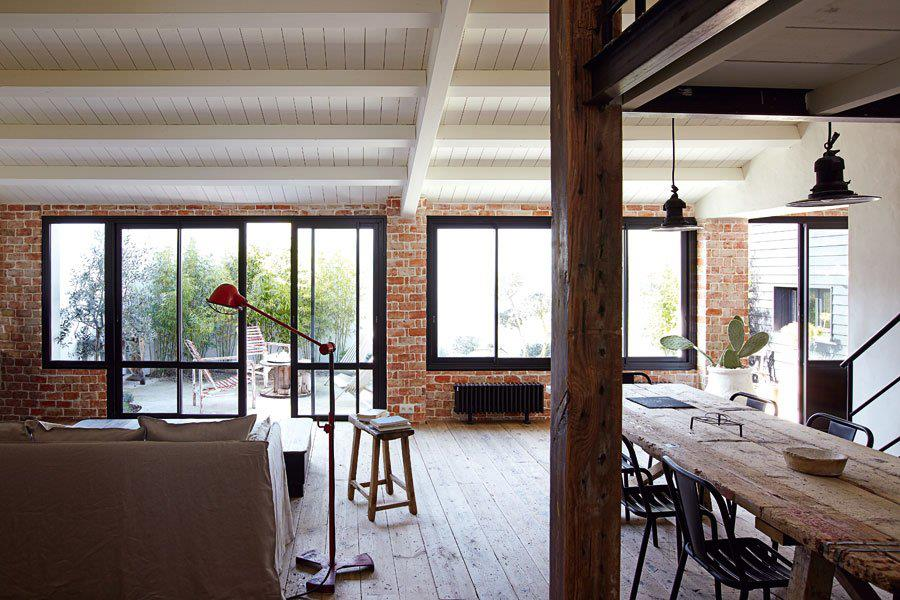 Nordic interior design jamie sarner - Salon rustique moderne ...