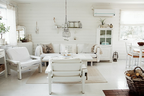 Swedish Country Cottage by Lof I Love
