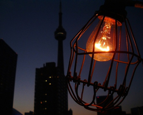 Toronto By Night Ernst Moeksis