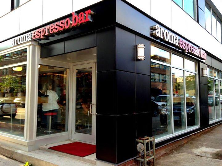 Aroma Espresso Bar Jamie Sarner