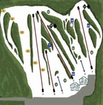 Ski Dagmar Trail Map