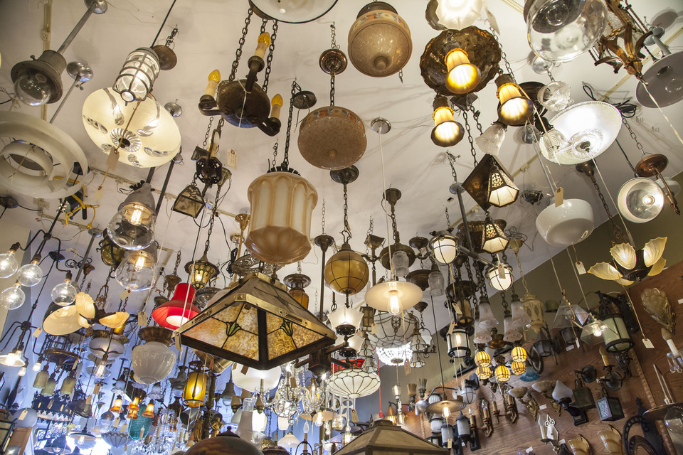 eclectic revival ceiling full of lights lighting fixtures l