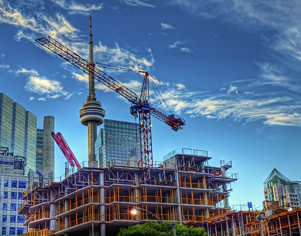 Toronto Construction by Nail Howard