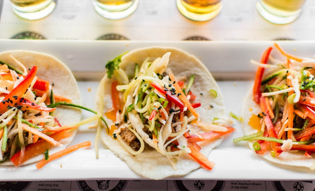 Will you go with Kokean Pulled Pork or 3 Speed Fish Tacos?