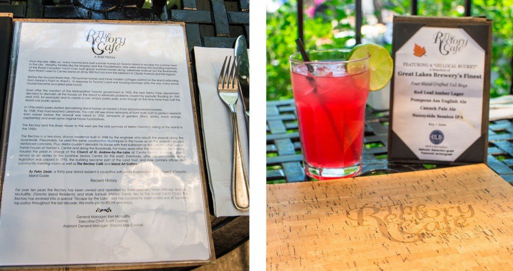 Rectory has a long and interesting history and they make really refreshing drinks