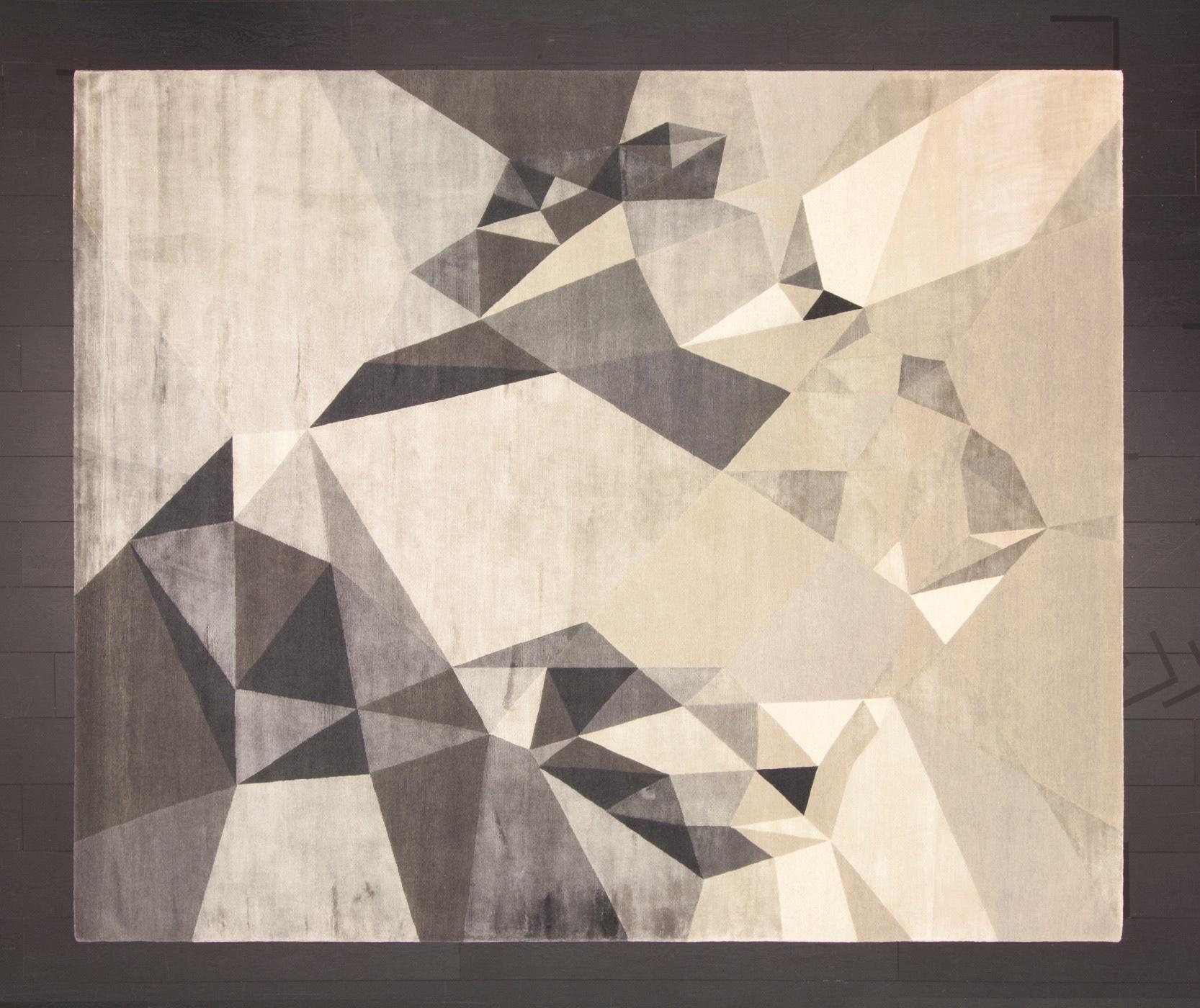 Heart No.1 rug by Jurgen Dahlmanns