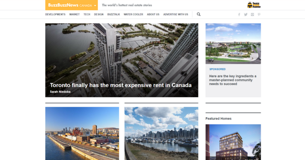Top 2 Canadian Real Estate Blog in 2017