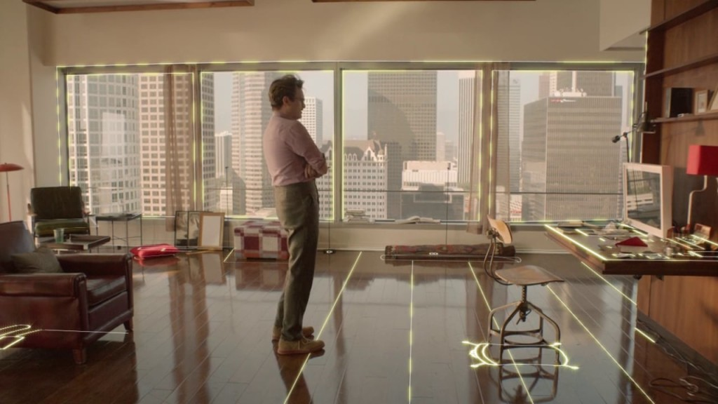 Smart Home in the movie Her