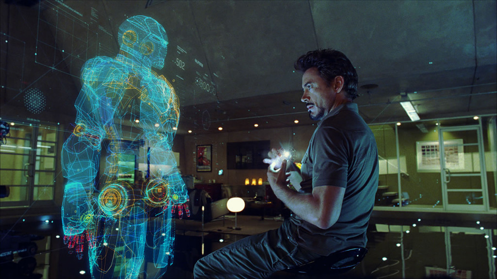 Smart Home Holographic interface in Iron Man
