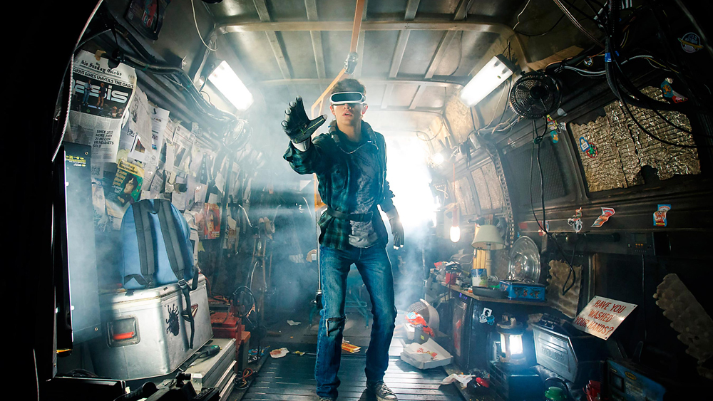 Virtual Reality technology from upcoming movie Ready Player One